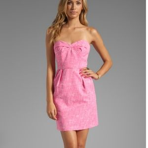 Shoshanna Reilly Strapless Sweetheart Dress